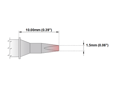 P Series Soldering Tip (PMXXCH177)